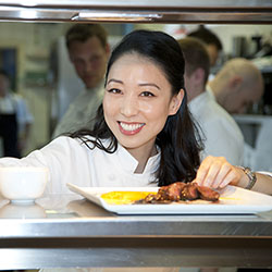 <p>Celebrity chef Judy Joo was featured at the 2016 Nevis Mango & Food Festival. // © 2016 Judy Joo</p><p>Feature image (above): A beach cabana...