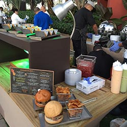<p>Burger Bar at Verdanza Hotel in the Isla Verde tourism district offers both a traditional version and island-centric varieties of the classic...