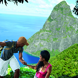 <p>St. Lucia offers many adventure options, in additional to unique island culture experiences. // © 2015 Saint Lucia Tourist Board</p><p>Feature...
