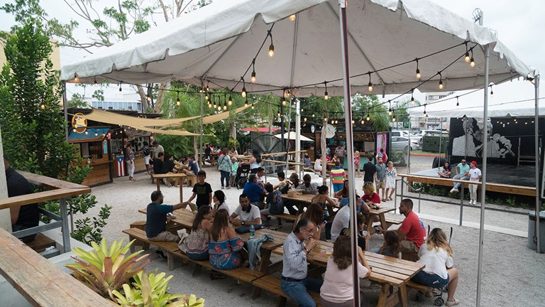 Check out Lote 23 in Puerto Rico's Santurce district for a selection of food and drink trucks.