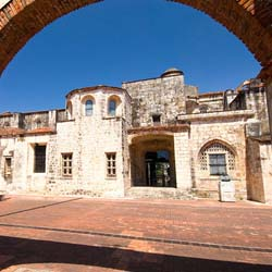 <p>Named a UNESCO World Heritage Site in 1990, Santo Domingo's Colonial Zone is full of examples of 15th- and 16th-century architecture. // © 2014...