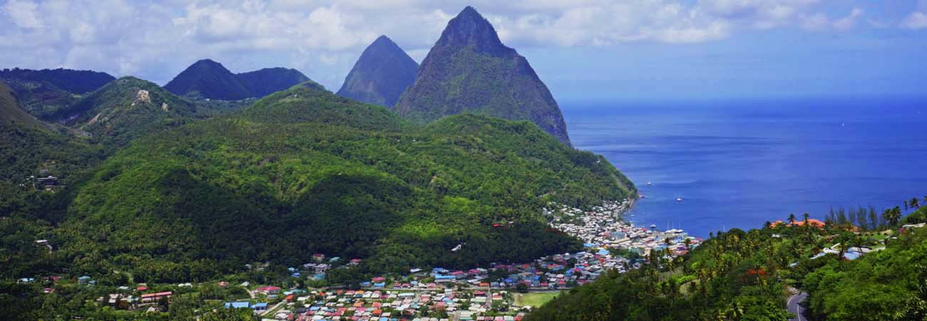 Climbing Gros Piton in St. Lucia