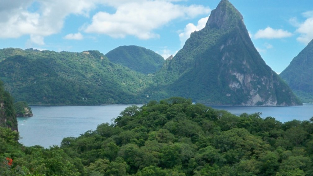 The Health & Wellness Retreat will take place across Saint Lucia. // © 2013 Sophy Farnad F
