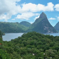 The Health & Wellness Retreat will take place across Saint Lucia. // © 2013 Sophy Farnad