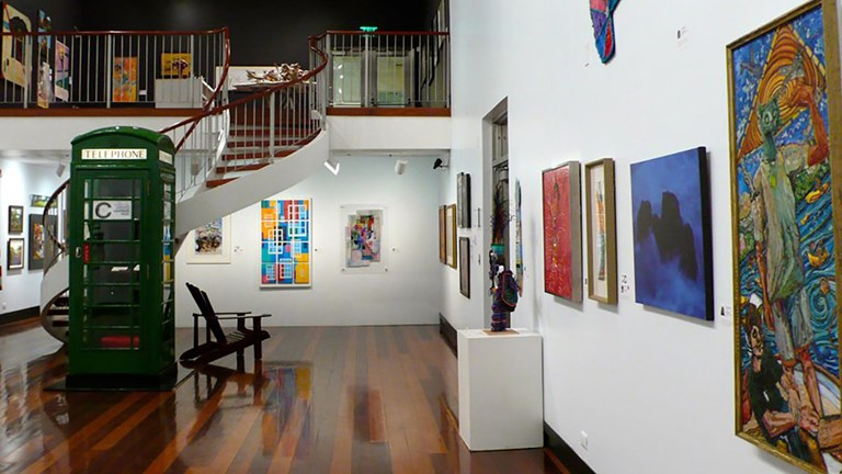 The Masterworks Museum of Bermuda Art has a growing collection.
