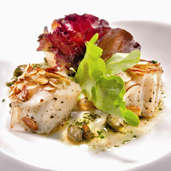<p>Caption: Chef Khalid Mohammed's eclectic offerings at Chaud make it one of the top fine-dining restaurants in Trinidad and Tobago. // 2014 ©...