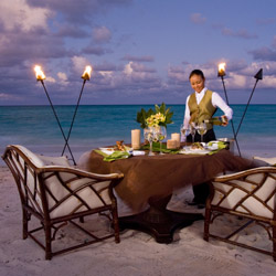 <p>Enjoy a candlelit dinner for two when booking a minimum of four nights at a Sandals hotel. // © 2016 Sandals Resorts</p><p>Feature image (above):...