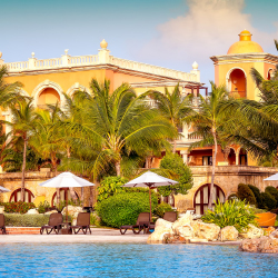 <p>Sanctuary Cap Cana is an all-inclusive, adults-only property. // © 2017 Playa Hotels & Resorts</p><p>Feature image (above): The resort features...