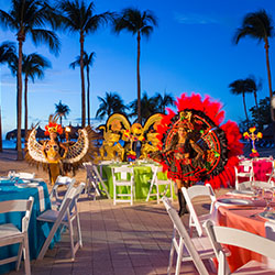 <p>La Vista is a restaurant at Aruba Marriott Resort & Stellaris Casino, where guests can reserve a front-row outdoor table in advance and enjoy a...