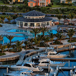 The marina-adjacent Resorts World Bimini, scheduled for completion in spring of 2014, will offer 300 hotel rooms and 50 garden villa suites. // © 2014...