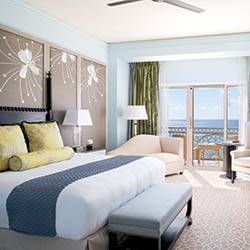 <p>Each guestroom at The Ritz-Carlton, Grand Cayman is equipped with a balcony. // © 2018 The Ritz-Carlton, Grand Cayman</p><p>Feature image (above):...