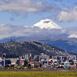 Agents will visit Quito, the capital of Ecuador. // © 2016 iStock