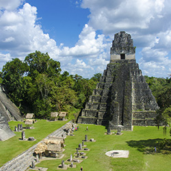 <p>Travel agents will visit the ruins of the ancient Maya city of Tikal while on this fam trip with Tours 4 the World. // © 2014...