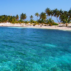 <p>Hatchet Caye is a private island in Belize. // © 2015 iStock</p><div></div>
