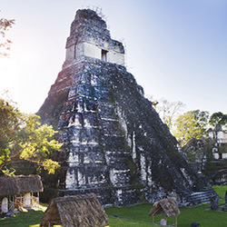 The ruins of Tikal are one of the ancient sites travel agents will visit on this fam trip. // © 2015 Thinkstock