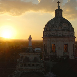While touring Granada, travel agents will enjoy city views from the bell tower of La Merced Church. // © 2014 Thinkstock