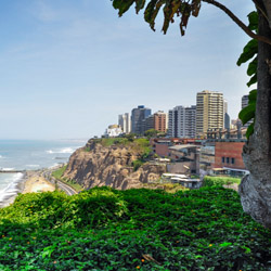 Miraflores is just one stop on this fam trip through Peru. // © 2015 iStock