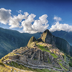 Agents will visit Machu Picchu, one of the New Seven Wonders of the World. // © 2016 iStock