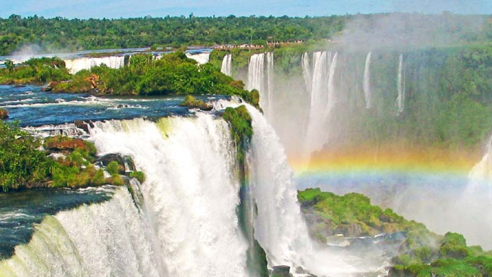 Iguazu Falls in Argentina is a World Heritage Site. // © 2015 Collette 2