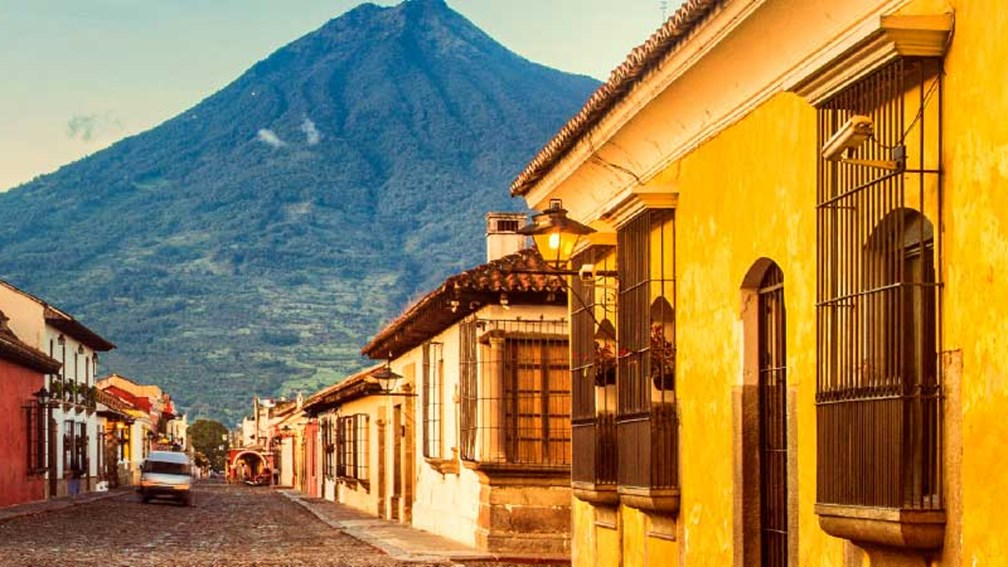 Antigua offers a blend of baroque architecture and Maya flavor. // © 2015 IStock 2