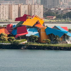 Architect Frank Gehry designed the BioMuseo in Panama // © 2014 Panama Tourism Authority