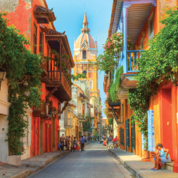 <p>Cartagena is especially popular with visitors. // © 2016 ProColombia</p><p>Feature image (above): Cartagena, along with other destinations in...