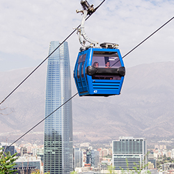 <p>Santiago, Chile, is far more than just a stopover on the way to other destinations. // © 2017 iStock</p><p>Feature image (above): City view from...