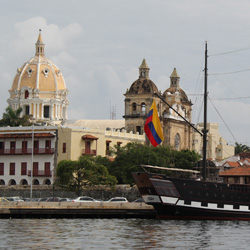 Cartagena may be an old city, but new hotels, flights, touring and cruising keep interest fresh. // © 2013 Mark Chesnut/LatinFlyer.com