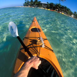 Kayaking is among the many activities to try with Island Expeditions. // © 2014 Island Expeditions