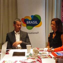 <p>According to Embratur president Vicente Neto, new tourism efforts will focus on selling spectator sports, Brazilian people and culture and Brazil's...
