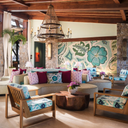 <p>The renovated lobby at Four Seasons Resort Costa Rica at Peninsula Papagayo // © 2015 Four Seasons Resort Costa Rica at Peninsula...