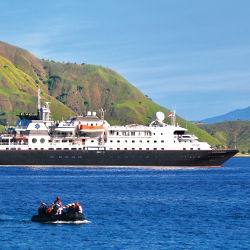The Silver Discoverer was recently renovated. // © 2014 Silversea Cruises