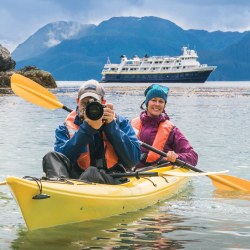 Passengers on Venture will have access to kayaks. // © 2017 David Vargas