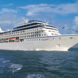 Oceania's new around-the-world cruise will visit five continents, 44 countries and 89 ports of call in 180 days onboard the Insignia. // (c) 2013...