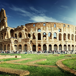 Agents will be able to see Rome's Colosseum during Sterling Vacation's Mediterranean cruise. // © 2017 iStock