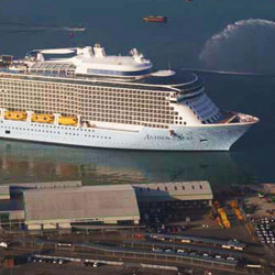 The fourth Quantum-class ship will be similar to Anthem of the Seas and will launch in 2019. // © 2015 Royal Caribbean International