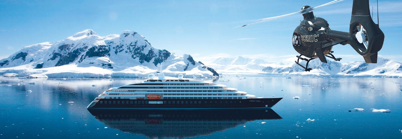 Scenic Unveils World's First Discovery Yacht