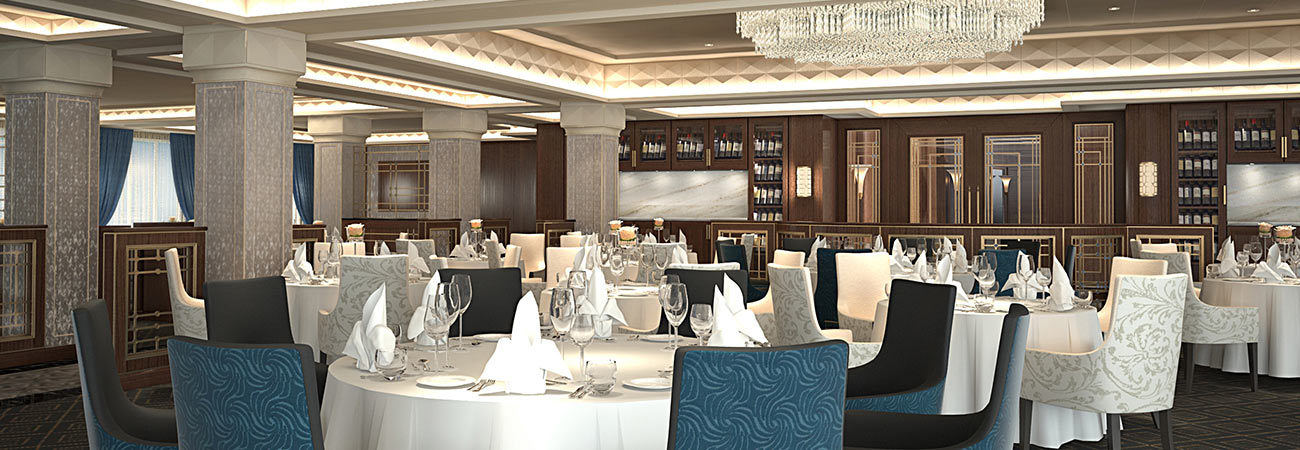 Regent's Dining Room Menus Are Getting a Makeover