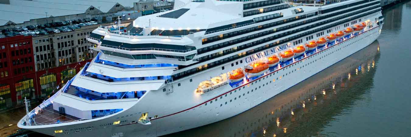 Carnival Sunshine Comes to New Homeport