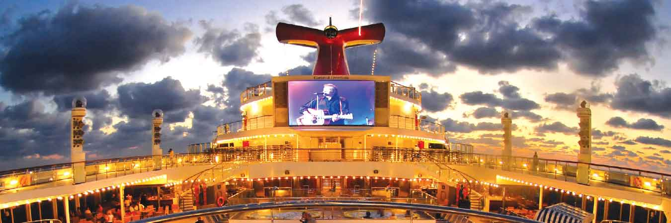 Carnival Freedom 2 0 Now Sailing Travelage West