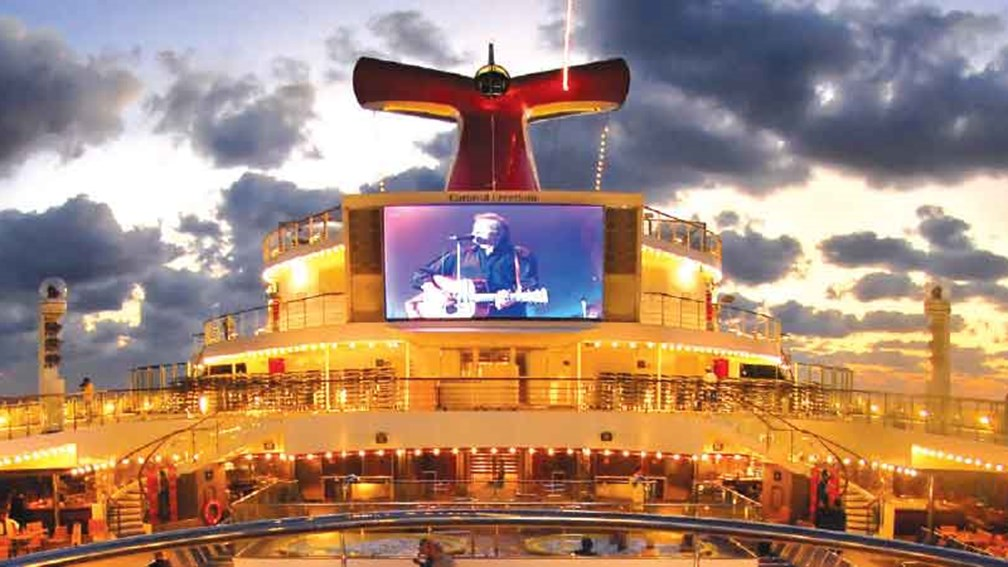 Freedom now has more entertainment options // © 2014 Carnival Cruise Lines 2