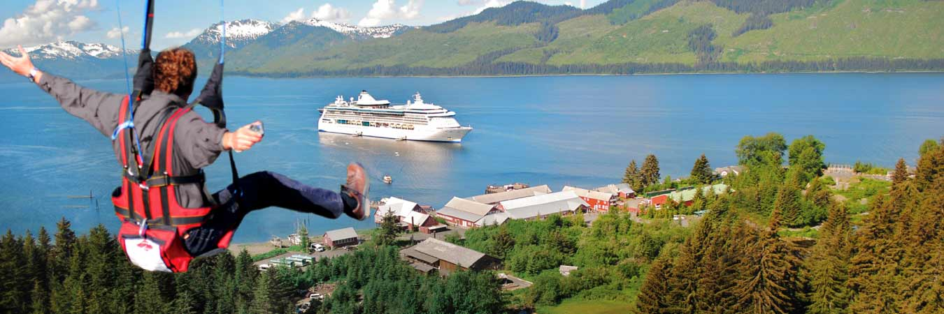 Cruise to Icy Strait Point in Alaska