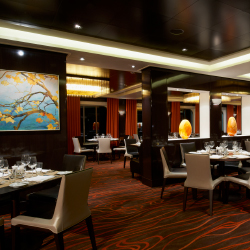 Savor is one of Breakaway's three main dining rooms. // © 2013 Norwegian Cruise Line