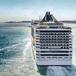 MSC hopes to attract more North American passengers to the Divina. // © 2014 MSC Cruises