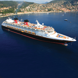 "Disney Magic will sail ""Frozen""-inspired itineraries in Norway. // © 2014 Disney"