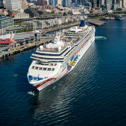 Norwegian Cruise Line plans to move a number of ships to the Western U.S. // © 2014 Norwegian Cruise Line