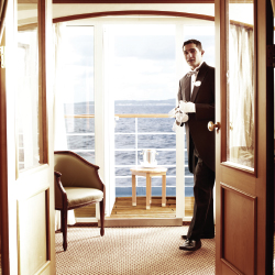 Silver Shadow butlers go far beyond guests' expectations. // © 2015 Silversea Cruises