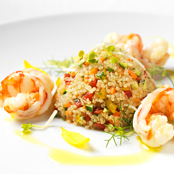 <p>MSC collaborated with Technogym nutritionists to create goal-oriented meals. // © 2016 MSC Cruises</p><p>Feature image (above): Wellness Experience...