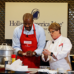 """America's Test Kitchen"" will be on HAL ships this fall. // © 2016 Holland America Line"