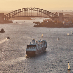 <p>Azamara Quest // © 2017 Azamara Club Cruises</p><p>Feature image (above): These days, world cruisers are motivated more by destination choice than...
